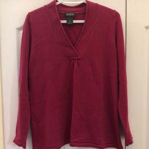 Eddie Bauer vneck sweater